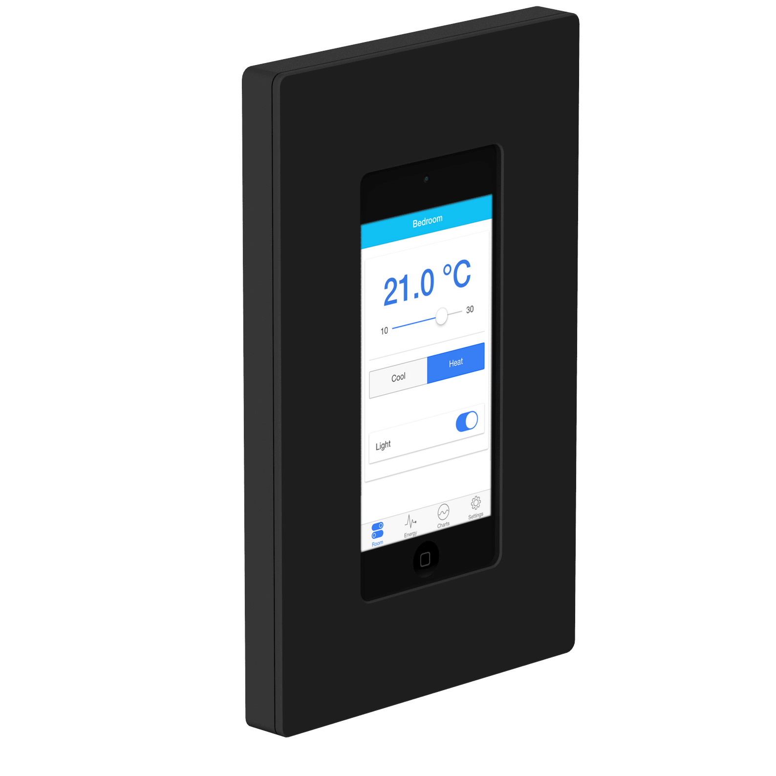 Wall mount BACnet touch display