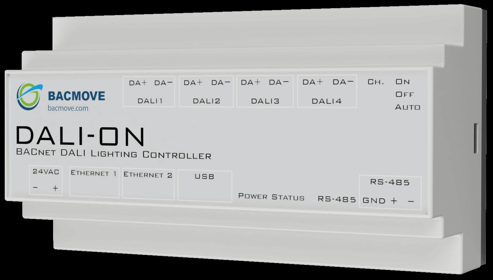 DALI-ON DALI BACnet controller