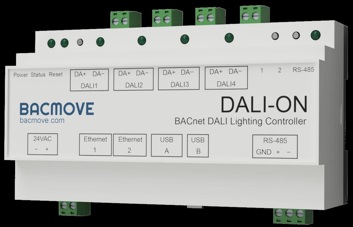 BACnet DALI Controller Gateway DALI-ON